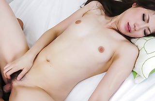 Rina Koda perceives needy for a strong man rod in her vag