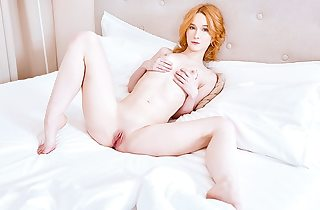 Long outing makes her pussy wet